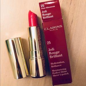 Clarins lipstick new full 25 Joli Rouge